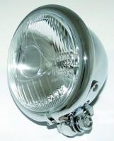 4 1/2 Fernscheinwerfer Bates Style,chrom,E gepr.
