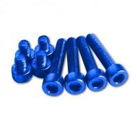 Aluschrauben Set f. Conical ONE, blue eloxiert