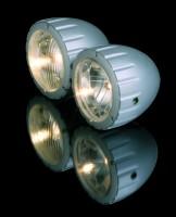 Doppelscheinwerfer Arizona silber, H4+H7, E-gepr.