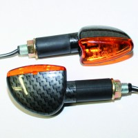 Blinker ARROW, Carbonlook, lang, E-gepr., Paar