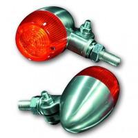 Blinker BULLET LIGHT, Aluminium poliert, E-gepr.