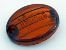 Blinkerglas f. Micro-Flash Blinker getönt, E-gep