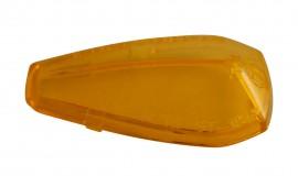 Blinkerglas für PEAK Blinker gelb, E-gepr.