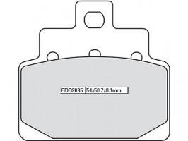 Bremsbeläge Ferodo FDB 2095 AG
