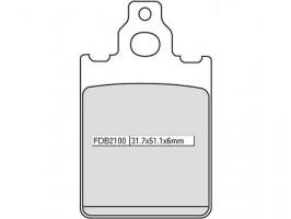 Bremsbeläge Ferodo FDB 2100 AG