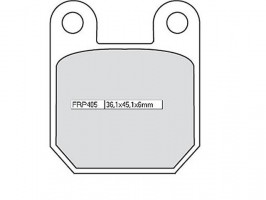 Bremsbeläge Ferodo FRP 405 AG
