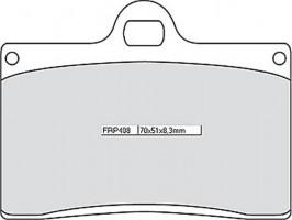 Bremsbeläge Ferodo FRP 408 P