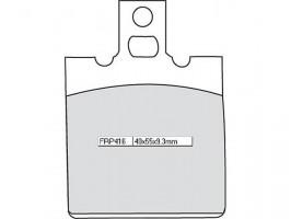 Bremsbeläge Ferodo FRP 416 P
