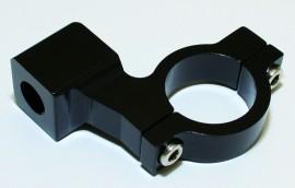 CNC-Spiegelschelle, schwarz, f. 7/8 Zoll Lenker