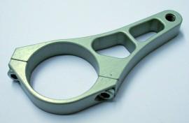 CNC-Standrohrschelle 43mm für Zusatzscheinwerfer