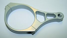 CNC-Standrohrschelle 54mm für Zusatzscheinwerfer
