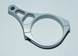 CNC-Standrohrschelle 56mm für Zusatzscheinwerfer