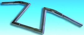Lenker Fehling-Z HIGH, chrom, 1 1/4 Zoll, H 23cm