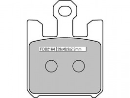 Bremsbeläge Ferodo Sintermetall FDB 2164 ST 4Beläge