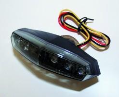 KOSO Mini Rücklicht LED getönt, E-gepr.