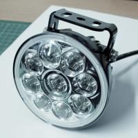 LED-Fernscheinwerfer Einsatz mit Universalhalter