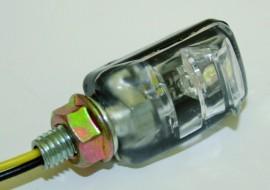 LED-Nummernschildbel. PICCO, schwarz, Paar