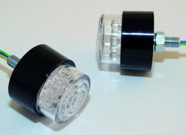 Rücklicht LED BULLET, rund, m. M8 Bolzen, E-gepr.