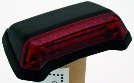 Rücklicht LED f. Fender,schwarz, rotes Glas