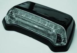 Rücklicht LED f. Fender,schwarz,Klarglas, E-gepr.
