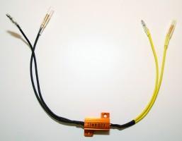 Leistungswiderstand 25 W- 8,2 Ohm mit Kabel, Paar