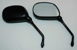 Universal Spiegel JOKER, schwarz, E-gepr., Paar