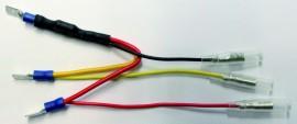 Widerstand m. breitem Stecker, f. Rücklicht LEDer
