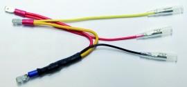 Widerstand m. schmalem Stecker f. Rücklicht LEDer