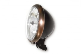 "Scheinwerfer Bates Style 5 3/4"", H4 12V 60/55W E-geprüft"