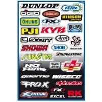 Image For FX Sponsor Sticker Kit A