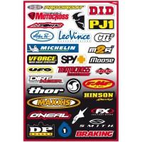 Image For FX Sponsor Sticker Kit B