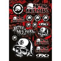 Image For FX Sponsor Sticker Kit Metal Mulisha